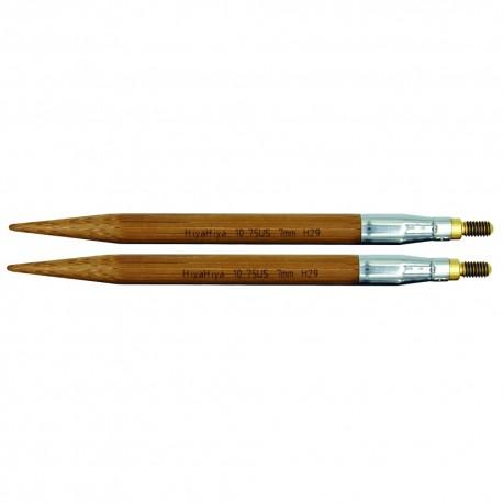 "Austauschbare Nadelspitzen Bambus 4"" 3mm"