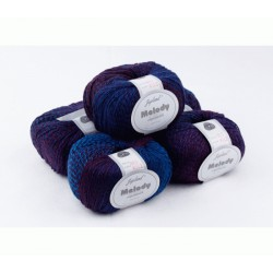 Melody Superwash MS12 Purple Spangled Royal